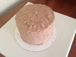 Mini 6inch Chocolate Cake with Chocolate Butter Cream Frosting