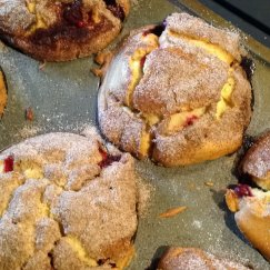 Jumbo Gluten/Dairy Free Cranberry Orange Muffins